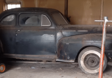 Barn Find 1947 Hot Rod Mercury sitting since 1964