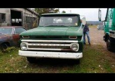 1966 Chevy Pick Up Barn Find