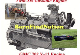 GMC Twin Six 702 V12